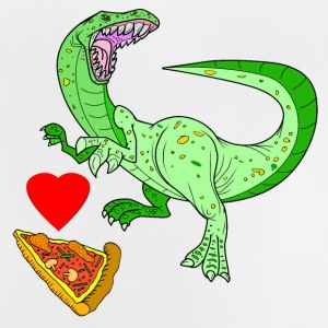 Vector Love Pizza - Baby-T-skjorte
