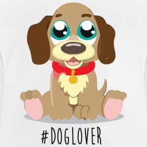 #Dog Lover - Baby T-shirt