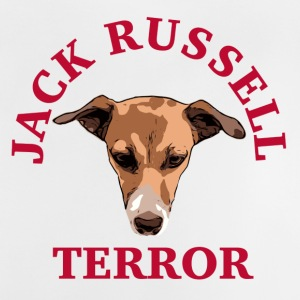 Jack Russell terror red - Baby T-Shirt