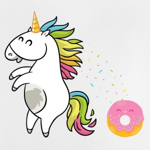 Unicorn Donut - Baby T-Shirt