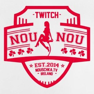 Nouschkasplay Team logo Twitch Pink_01 - Baby T-shirt