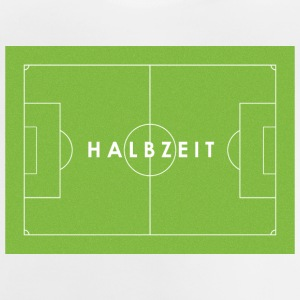 Half Time - Voetbal - Baby T-shirt