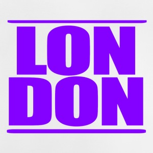 LON DON Logo Purple - Camiseta bebé