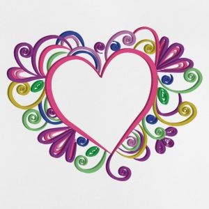 Heart style quilling - Baby T-Shirt