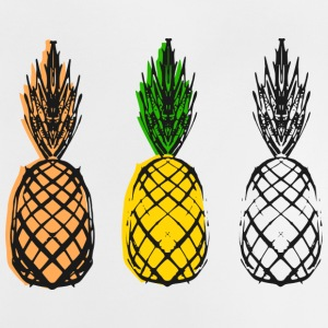 Pineapple - Collage - Baby-T-skjorte