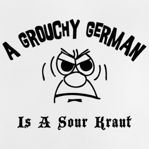 Grouchy Duits is een Zure Kraut - Baby T-shirt