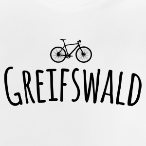fiets Greifswald - Baby T-shirt