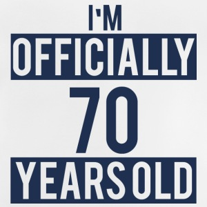 70. Birthday: I'm Officially 70 Years Old - Baby T-Shirt