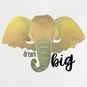 "Elephant ""Dream Big"" - Maglietta per neonato"