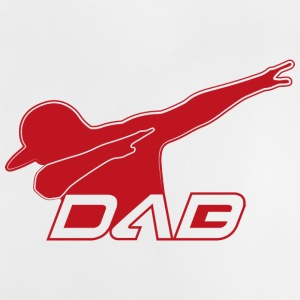 DAB red outline - Baby T-Shirt