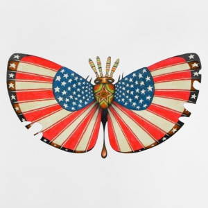 Patriot moth - Baby T-Shirt
