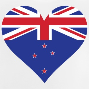 A Heart For New Zealand - Baby T-Shirt
