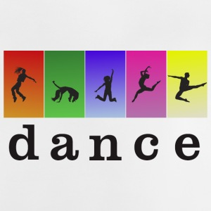 LOVE DANCING WITH COLOR - Baby T-Shirt