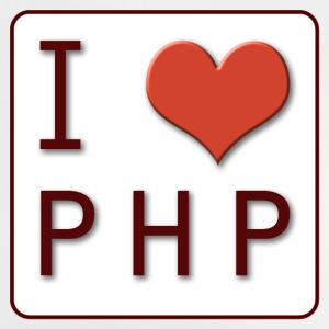 I LOVE PHP - Baby T-shirt