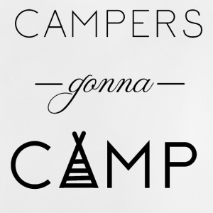 Campers gaat Camp - Baby T-shirt