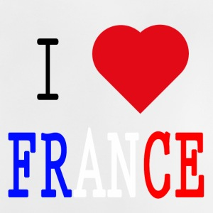 I Love France - Baby-T-skjorte