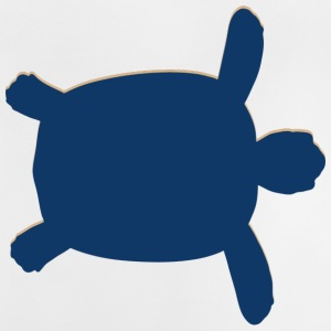 Real Swimming Sea Turtle - Baby T-Shirt