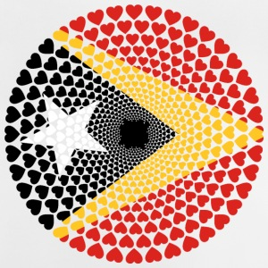 Timor East Timor Love HEART Mandala - Baby T-Shirt