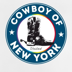 bottes de cowboy de New York Symbole Gay Pride Humour lol - T-shirt Bébé