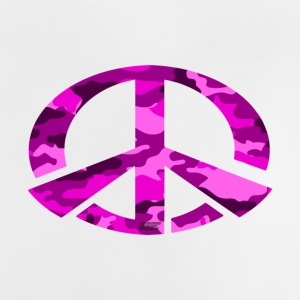 Peace - Pink Camo Edition - Baby T-Shirt