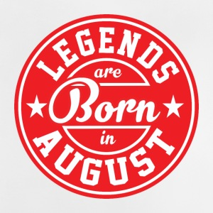 Legends August born birthday gift birth - Baby T-Shirt
