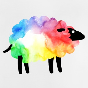 Rainbow Sheep - Baby-T-shirt