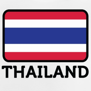 Nationalflagge von Thailand - Baby T-Shirt