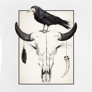 Skull and Crow - Baby-T-skjorte