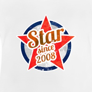 Gift for Stars born in 2008 - Baby T-Shirt