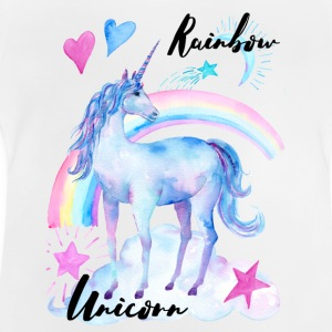 Rainbow Unicorn / Rainbow Unicorn - Baby T-shirt