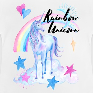 Rainbow Unicorn / Rainbow Unicorn - Baby-T-skjorte