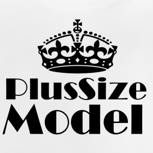 Plus Size Model - Baby T-Shirt