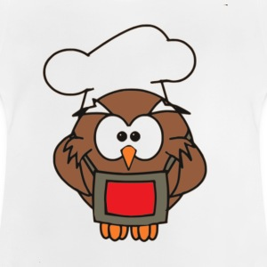 Cook Owl - Baby T-Shirt