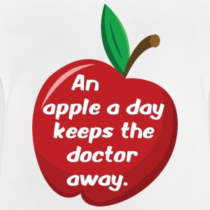 An apple a day... - Baby T-Shirt