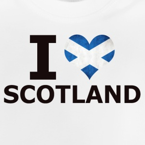 J'AIME SCOTLAND FLAG - T-shirt Bébé