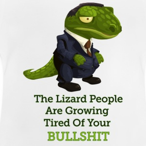 Lizard People - Baby-T-skjorte