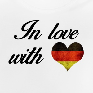 In love with Deutschland - Baby T-Shirt