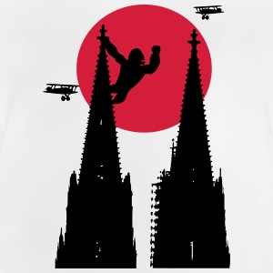 Koeln Dom King Kong with sun - Baby T-Shirt
