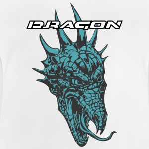 dragón del color thornful - Camiseta bebé