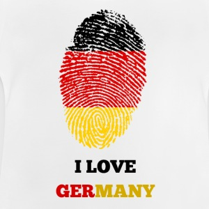 AMO GERMANIA FINGERPRINT T-SHIRT - Maglietta per neonato