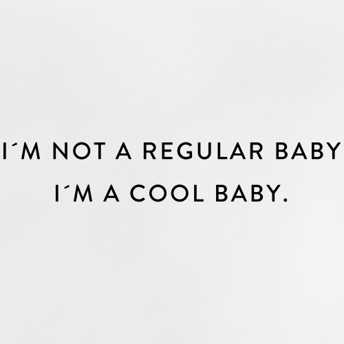 I´M A COOL BABY - Baby T-Shirt