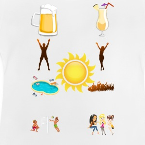 sommar - Baby-T-shirt