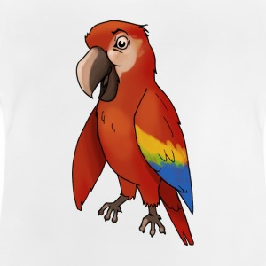 Parrot bird birds cage canary finch - Baby T-Shirt