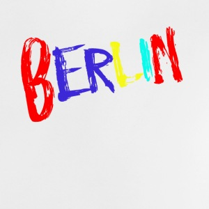 Berlin font colorful - Baby T-Shirt