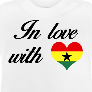 In love with Ghana - Baby T-Shirt