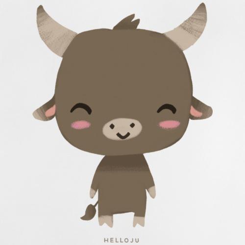 Stier - Geschenk-Motiv zur Geburt eines Jungen - Baby T-Shirt