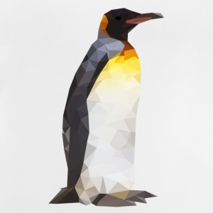 Low Poly Penguin - Baby T-Shirt