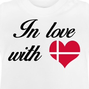 In love with Denmark - Baby T-Shirt