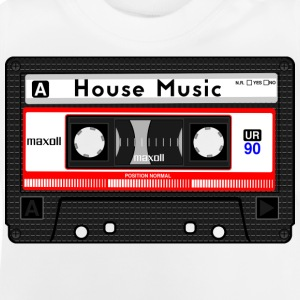 HOUSE MUSIC KASSETTE - Baby T-Shirt