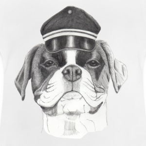 Boxer with cap - Baby T-Shirt